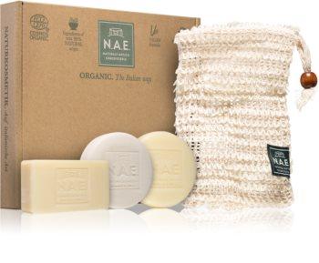 N.A.E. Solid Box Gift Set  (voor Gezicht, Lichaam en Haar )