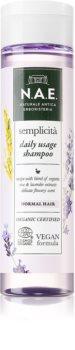 N.A.E. Semplicita das Reinigungsshampoo für normales Haar