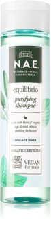 N.A.E. Equilibrio shampoo rinfrescante per capelli grassi