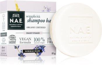 N.A.E. Semplicita Organisches Shampoo als Waschstück