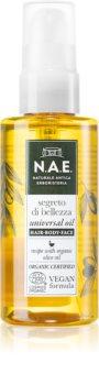 N.A.E. Segreto di Bellezza huile nourrissante visage, corps et cheveux