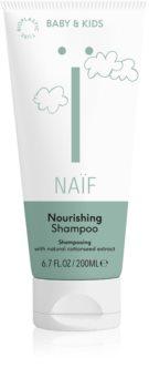 Naif Baby & Kids tápláló sampon a gyermek fejbőrre