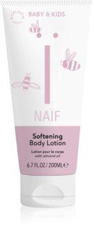 Naif Baby & Kids Blødgørende kropsmælk til børn