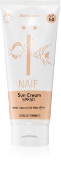 Naif Baby & Kids krema za sončenje za otroke SPF 50