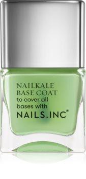 Nails Inc. Nailkale Superfood Base Coat alapozó körömlakk regeneráló hatással