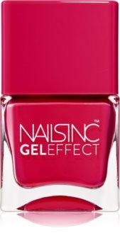 Nails Inc. Gel Effect lak na nechty s gélovým efektom
