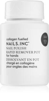 Nails Inc. Powered by Collagen zmywacz do paznokci bez acetonu