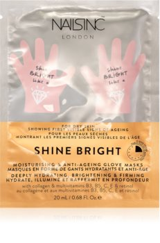 Nails Inc. Shine Bright Masca regeneratoare de maini