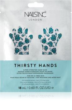 Nails Inc. Thirsty Hands maschera idratante mani