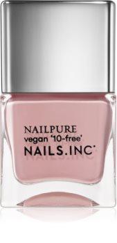 Nails Inc. Nail Pure vyživující lak na nehty