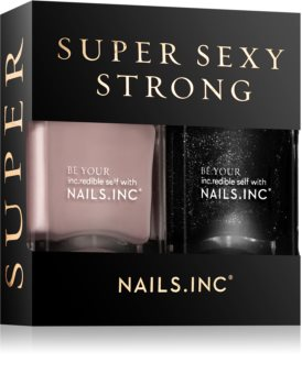 Nails Inc. Super sexy strong conditionnement avantageux (ongles)