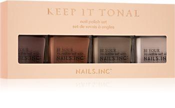 Nails Inc. Keep It Tonal Ombre dárková sada (na nehty)