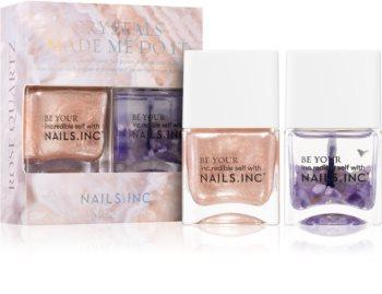 Nails Inc. Crystals Made Me Do It изгодна опаковка II. (за нокти)
