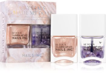 Nails Inc. Crystals Made Me Do It takarékos kiszerelés II. (körmökre)