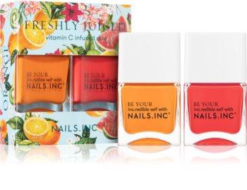 Nails Inc. Freshly Juiced výhodné balení (na nehty)