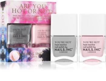 Nails Inc. Are You Hot Or Not изгодна опаковка I. (за нокти)