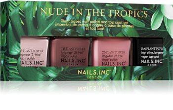 Nails Inc. Nude in theTropics Geschenkset (für Nägel)