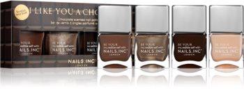 Nails Inc. Like You A Choco-Lot ajándékszett (körmökre)