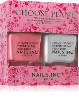 Nails Inc. Choose Plant výhodné balení (na nehty)