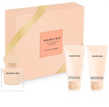 Narciso Rodriguez Narciso Poudrée coffret cadeau X. pour femme