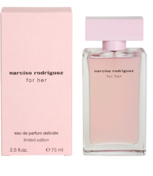 Narciso Rodriguez For Her Delicate Limited Edition eau de parfum para mujer 75 ml