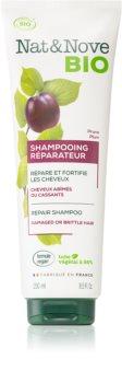 Nat&Nove Reparateur obnovující šampon pro velmi poškozené křehké vlasy