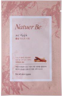 Natuer Be Masks energizująca maseczka do twarzy