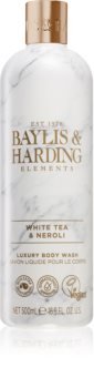Baylis & Harding Elements White Tea & Neroli gel douche de luxe