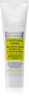 Natura Siberica Natural Siberian 7 Northern Herbs dentifrice contre les saignements de gencives