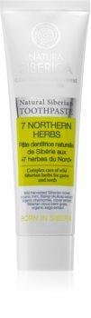 Natura Siberica Natural Siberian 7 Northern Herbs pastă de dinți impotriva sangerarii gingiilor