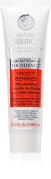 Natura Siberica Natural Siberian Frosty Berries dentifricio rinfrescante