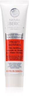 Natura Siberica Natural Siberian Frosty Berries erfrischende Zahnpasta