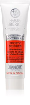 Natura Siberica Natural Siberian Frosty Berries pastă de dinți revigorantă