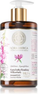 Natura Siberica Flora Siberica Kamchatka Rosebay Willowherb sampon dúsító hatással