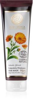 Natura Siberica Flora Siberica Calendula Khakassia hydratační maska pro barvené vlasy