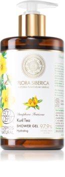 Natura Siberica Flora Siberica Kuril Tea hydratační sprchový gel