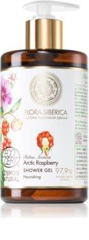 Natura Siberica Flora Siberica Arctic Raspberry gel de douche nourrissant