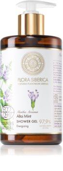 Natura Siberica Flora Siberica Altai Mint energizující sprchový gel