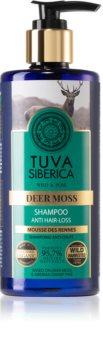 Natura Siberica Tuva Siberica Deer Moss Hiustenpesuaine Hiusjuurten Vahvistamiseen Ja Hiuskasvun Tukemiseen