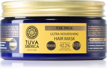Natura Siberica Tuva Siberica Yak Milk Feuchtigkeitsspendende Maske mit ernährender Wirkung für das Haar
