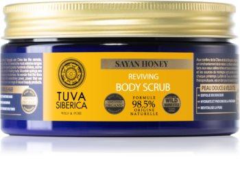 Natura Siberica Tuva Siberica Sayan Honey tělový peeling