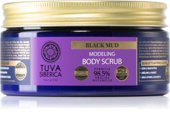 Natura Siberica Tuva Siberica Black Mud tělový peeling