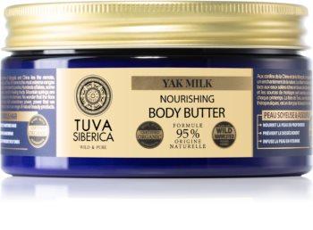 Natura Siberica Tuva Siberica Yak Milk nährende Body-Butter