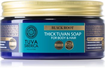 Natura Siberica Tuva Siberica Black Root Liquid Soap for Body and Hair