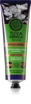 Natura Siberica Tuva Siberica Tuvan Herbs regenerierender Balsam für Hände und Fingernägel