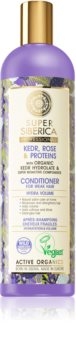 Natura Siberica Kedr, Rose & Protein objemový kondicionér pro oslabené vlasy
