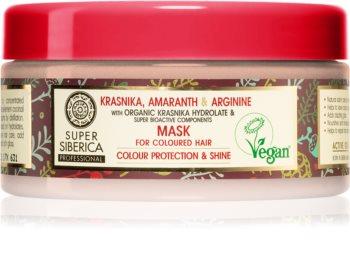 Natura Siberica Krasnika, Amaranth & Arginine pflegende Maske für gefärbtes Haar