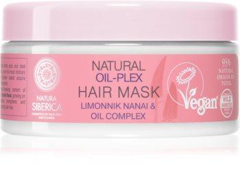 Natura Siberica Natural Oil-plex hloubkově regenerační maska pro barvené vlasy