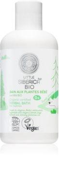 Natura Siberica Little Siberica BIO нежна билкова вана за деца от раждането им