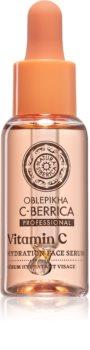 Natura Siberica Oblepikha C-Berrica Kosteuttava kasvoseerumi C-Vitamiinin Kanssa